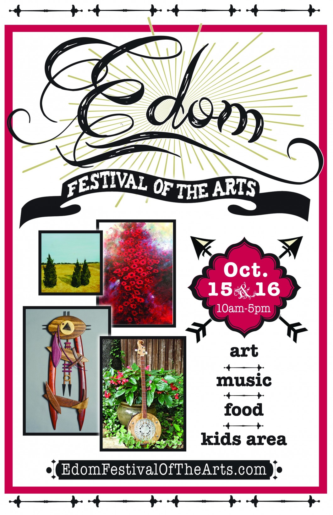 071216-Edom-Fest-of-the-Arts-Poster-11x17